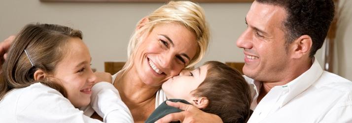 Chiropractor West Hartford CT Happy Family